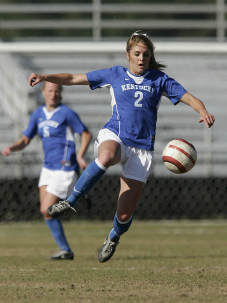 Kentucky Womens Soccer Kick