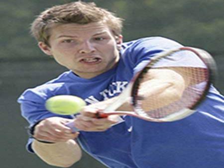 Kentucky mens tennis backhand
