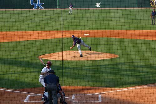 LSU Baseball Pitcher