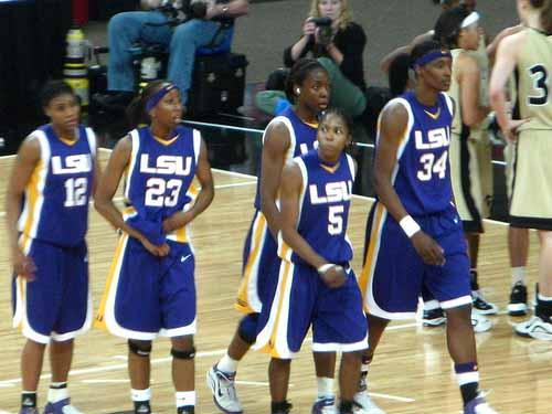 LSU women's basketball team