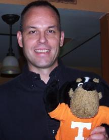 Me with UT mascot Smokey