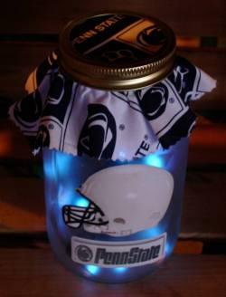 Penn State Lighted Mason Jar