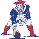 Traditional Patriots Football Graphic